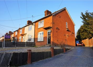 Thumbnail 3 bed end terrace house for sale in Hornes End Road, Flitwick, Bedford