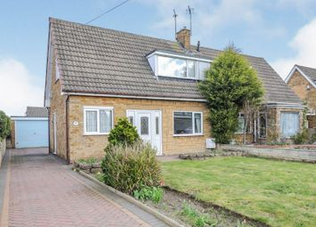 Thumbnail 2 bedroom semi-detached bungalow for sale in Mount Close, Harworth, Doncaster
