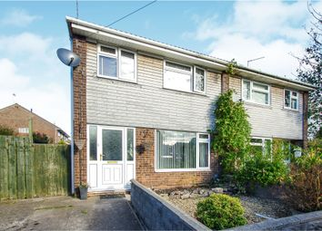 Thumbnail 3 bed semi-detached house for sale in Brunel Close, Barry