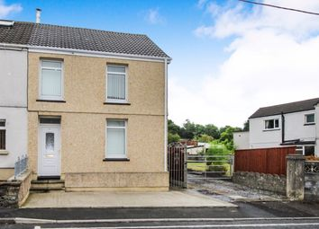 Thumbnail 3 bed end terrace house for sale in Tyn Y Bonau Road, Pontarddulais, Swansea
