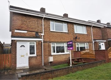 Thumbnail 2 bed semi-detached house for sale in South View, Morpeth