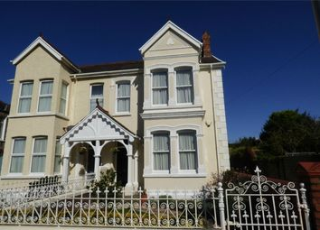 Thumbnail 4 bed semi-detached house for sale in 2 Stradey Park Avenue, Llanelli, Carmarthenshire