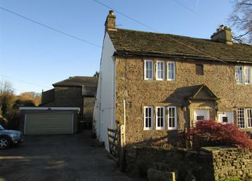 Thumbnail 3 bed end terrace house to rent in Crossings Road, Chapel En Le Frith, Derbyshire