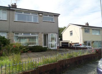 Thumbnail 3 bed semi-detached house to rent in Llanover Road, Cardiff