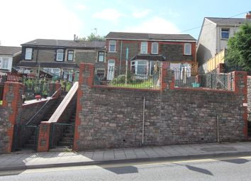 Thumbnail 2 bed terraced house to rent in Pleasant View, Crumlin, Newport