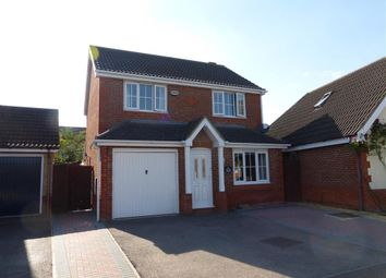 Thumbnail 3 bed detached house for sale in Ferndale, Yaxley, Peterborough