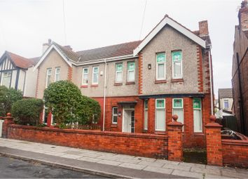 Thumbnail 4 bed semi-detached house for sale in Woodville Avenue, Liverpool