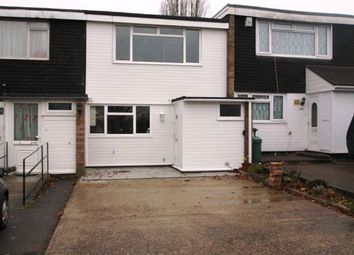 Thumbnail 3 bed terraced house to rent in Church Road, Barstable West, Basildon