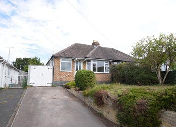Thumbnail 2 bed semi-detached bungalow for sale in Noverton Lane, Prestbury, Cheltenham, Gloucestershire