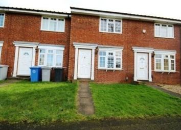Thumbnail 2 bed terraced house to rent in Leicester Close, Kettering
