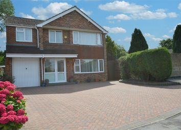 Thumbnail 4 bed detached house for sale in Reynolds Close, Hillmorton, Rugby, Warwickshire