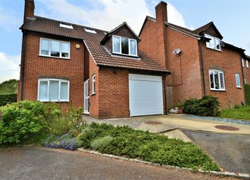 Thumbnail 5 bed detached house for sale in Burdock Close, Burghfield Common, Reading