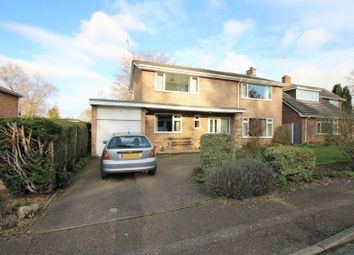 Thumbnail 4 bed detached house for sale in Folgate Close, Costessey, Norwich