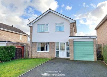 Thumbnail 3 bed detached house for sale in Llwyn Menlli, Ruthin