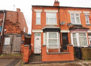 Thumbnail 3 bed end terrace house for sale in Victoria Road East, Leicester