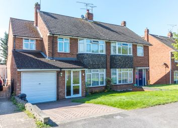 Thumbnail 4 bed semi-detached house for sale in Eastwood Road, Woodley, Reading