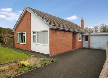 Thumbnail 3 bed detached bungalow for sale in Trehowell Avenue, Chirk Bank, Wrexham