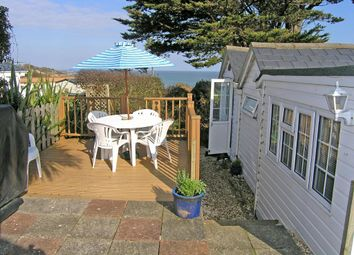 Thumbnail 2 bedroom mobile/park home for sale in Sandhills, Whitecliff Bay, Bembridge, Isle Of Wight