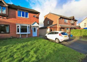 Thumbnail 2 bed semi-detached house for sale in Longfellow Close, Wigan