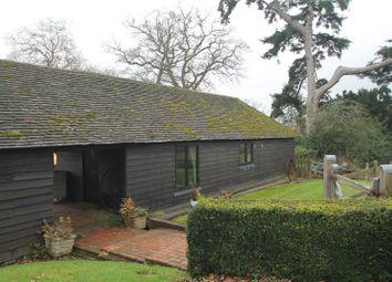 Thumbnail 1 bed barn conversion to rent in Kentish Barn, Underriver House Road, Sevenoaks, Kent