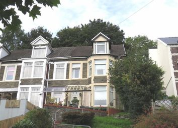 Thumbnail 4 bed end terrace house for sale in Tyfica Road, Pontypridd