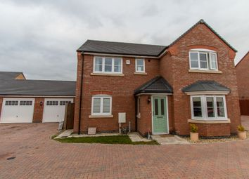 Thumbnail 4 bed detached house for sale in Buxton Crescent, Broughton Astley