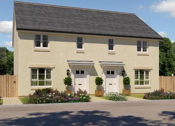 "Thumbnail 3 bedroom semi-detached house for sale in ""Traquair"" at Oldmeldrum Road, Inverurie"