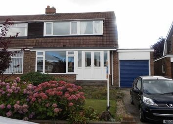 Thumbnail 3 bed semi-detached house to rent in Aspen Close, Durham