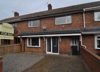Thumbnail 3 bed terraced house for sale in Moorside, Spennymoor