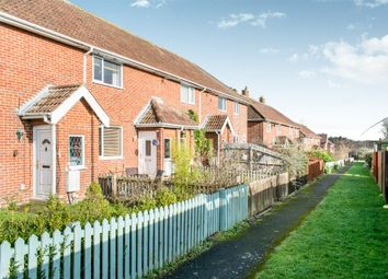 Thumbnail 2 bed terraced house for sale in The Warren, Perham Down, Andover