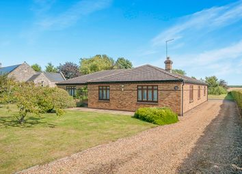 Thumbnail 4 bed detached bungalow for sale in Main Street, Tansor, Peterborough