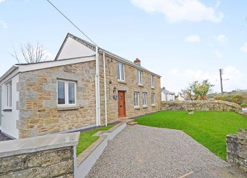 Thumbnail 3 bed detached house for sale in New Road, Stithians, Truro