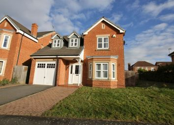 Thumbnail 4 bed detached house for sale in Hogarth Drive, Prenton, Wirral