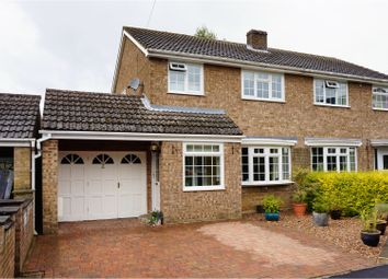 Thumbnail 3 bedroom semi-detached house for sale in Cresswell Drive, Cottesmore, Oakham