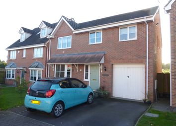 Thumbnail 4 bed detached house for sale in Wentloog Rise, Castleton, Cardiff