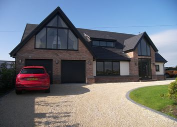 Thumbnail 4 bedroom detached house for sale in Bryning Lane, Wrea Green, Preston