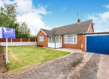 Thumbnail 3 bed bungalow to rent in Mere Road, Weston, Crewe