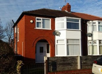 Thumbnail 3 bedroom semi-detached house to rent in Upton Drive, Timperley, Altrincham
