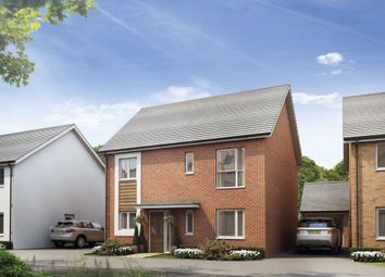 Thumbnail 4 bedroom detached house for sale in St Modwen Homes, Cadley Hill, Castle Gresley
