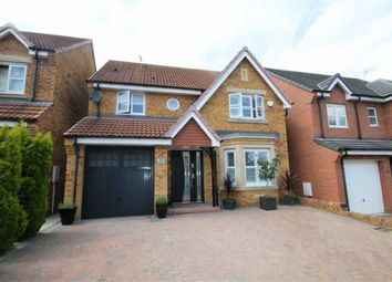 Thumbnail 4 bed detached house for sale in Kipling Way, Crook, County Durham