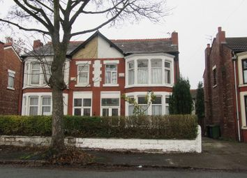 Thumbnail 3 bed semi-detached house for sale in Wood Road North, Old Trafford, Manchester