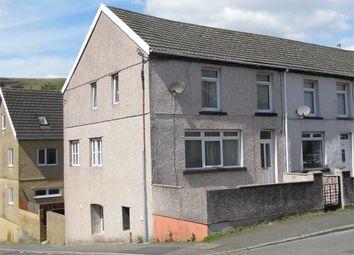 Thumbnail 4 bed end terrace house for sale in Oakfield Terrace, Nantymoel, Bridgend, Mid Glamorgan