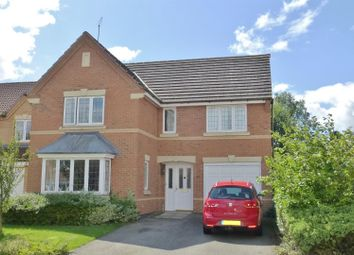 Thumbnail 4 bed detached house for sale in Tolethorpe Close, Oakham