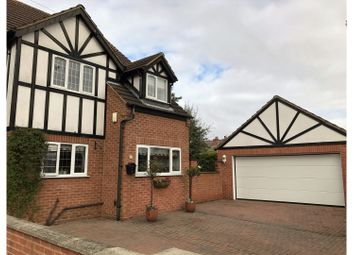 Thumbnail 3 bed detached house for sale in Grover Avenue, Mapperley