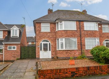 Thumbnail 3 bed semi-detached house for sale in Denmead Avenue, Wigston, Leicester