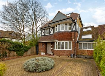 Thumbnail 5 bedroom link-detached house for sale in Lauderdale Drive, Richmond, Surrey