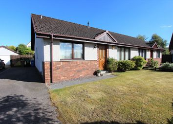 Thumbnail 3 bed semi-detached bungalow for sale in 28 Wellside Road, Balloch, Inverness.