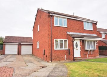 Thumbnail 2 bed semi-detached house for sale in White Horse View, South Shields