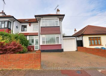 Thumbnail 4 bed semi-detached house for sale in Henley Crescent, Westcliff-On-Sea