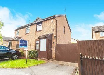 Thumbnail 2 bed semi-detached house for sale in Fossdale Close, Hull